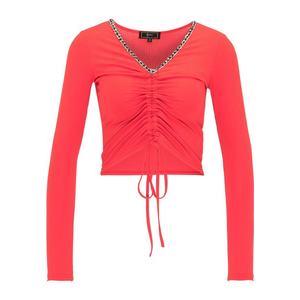 faina Tričko červená / biela / čierna vyobraziť