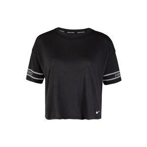 NIKE Funkčné tričko čierna / biela vyobraziť