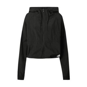 ADIDAS PERFORMANCE Tréningová bunda čierna / biela vyobraziť