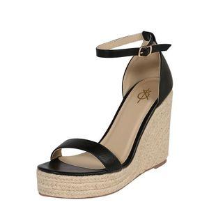 4th & Reckless Remienkové sandále 'VENUS' piesková / čierna vyobraziť
