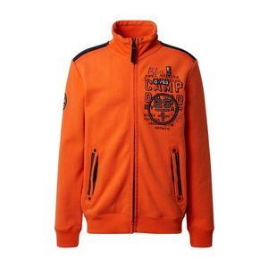 CAMP DAVID Tepláková bunda oranžová vyobraziť