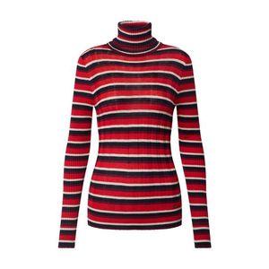 Pepe Jeans Sveter 'Flor' čierna / červená / biela vyobraziť