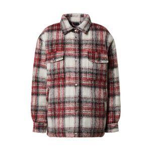 Pepe Jeans Prechodná bunda 'Runa' čierna / červená / biela vyobraziť