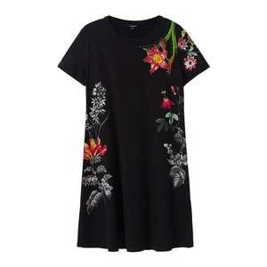 Desigual Šaty 'Vest Caroline' zmiešané farby / čierna vyobraziť
