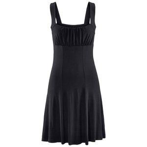 BEACH TIME Plážové šaty čierna vyobraziť