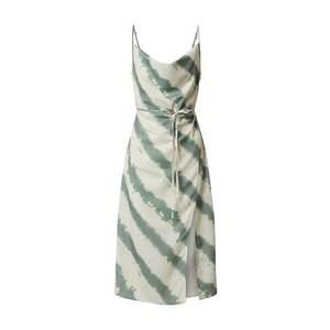 4th & Reckless Letné šaty 'LAURIE' mätová / béžová vyobraziť