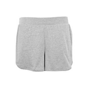 NIKE Športové nohavice sivá / čierna vyobraziť