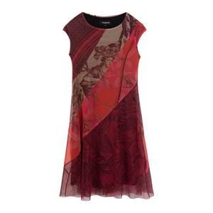 Desigual Šaty 'Vest Houston' zmiešané farby / červená vyobraziť