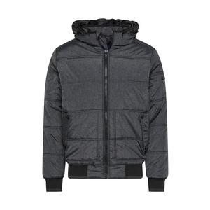 BLEND Prechodná bunda tmavosivá / čierna vyobraziť
