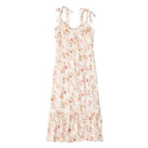 Abercrombie & Fitch Letné šaty ružová / biela vyobraziť