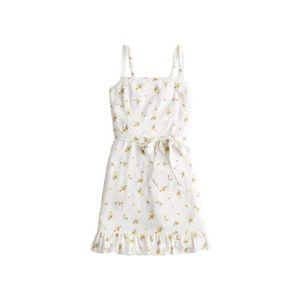 HOLLISTER Letné šaty ' Drive Bare' biela / žltá vyobraziť