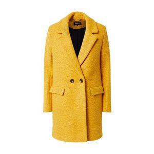 ONLY Zimný kabát 'Wally' žltá vyobraziť