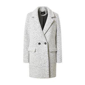 ONLY Zimný kabát 'WALLY' sivá / šedobiela vyobraziť