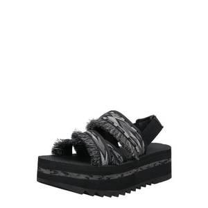 TEVA Sandále tmavosivá / svetlosivá / čierna vyobraziť