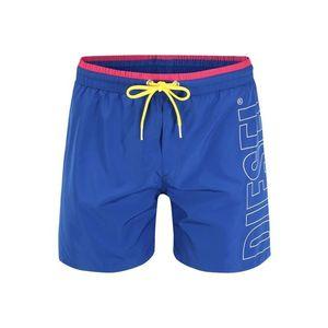 DIESEL Plavecké šortky modrá vyobraziť