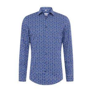 Nebesky modrá pánska košeľa vyobraziť