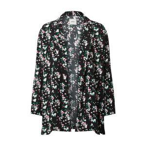 Pimkie Prechodná bunda 'Raichu' čierna / biela / zelená vyobraziť