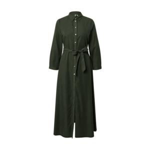 PIECES Košeľové šaty zelená vyobraziť