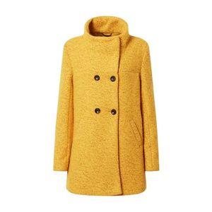 ONLY Zimný kabát 'Sophia' žltá vyobraziť