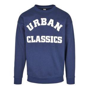 Urban Classics Mikina námornícka modrá / biela vyobraziť