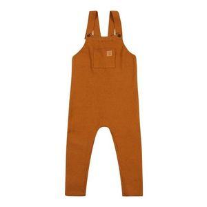 NAME IT Nohavice na traky hnedá vyobraziť