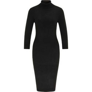 usha BLACK LABEL Pletené šaty čierna vyobraziť
