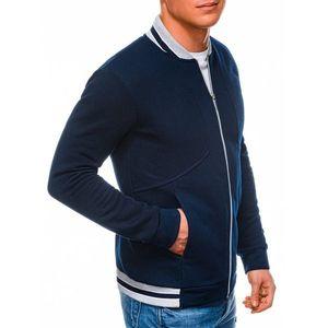 Ombre Clothing Men's zip-up sweatshirt B1183 vyobraziť