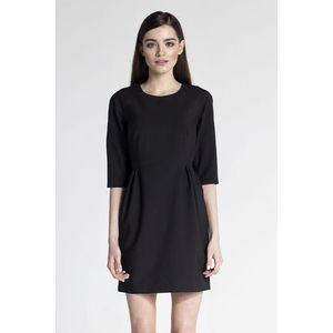 Čierne šaty ASU0029 vyobraziť