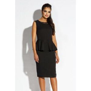 Čierne šaty Mila vyobraziť