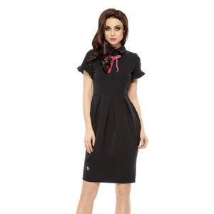 Čierne šaty L234 vyobraziť