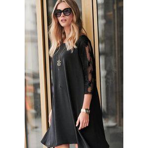 Čierne šaty NU237 vyobraziť
