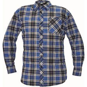 Cerva Flanelová košeľa SATURN - Světle modrá | M vyobraziť