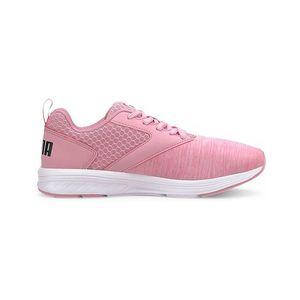 Detská ružová obuv Puma vyobraziť