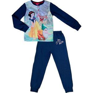 Tmavomodré dievčenské pyžamo snehulienka vyobraziť