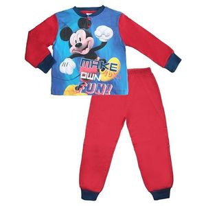 červené chlapčenské pyžamo mickey mouse vyobraziť