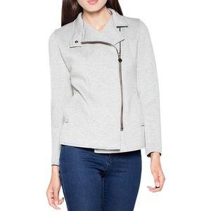 Svetlo šedá krátka bunda vt034 light grey vyobraziť
