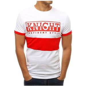 červeno-biele tričko knight vyobraziť