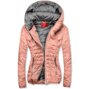 Ružová športová bunda vyobraziť
