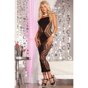 Čierne šaty Diamond vyobraziť