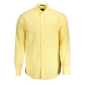 Gant pánska košeľa Farba: žltá, Veľkosť: S vyobraziť