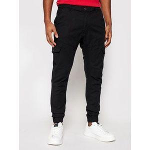 Guess Jogger nohavice New Kombat M1RB17 WDP31 Čierna Slim Fit vyobraziť