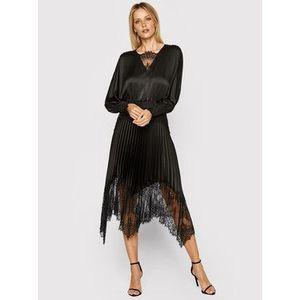 Nissa Večerné šaty RS11783 Čierna Regular Fit vyobraziť