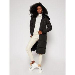 Desigual Zimný kabát Katia 20WWEWB3 Čierna Straight Fit vyobraziť