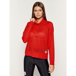 DKNY Sport Mikina DP9T6457 Červená Regular Fit vyobraziť