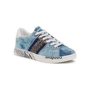 Desigual Sneakersy Cosmic 21SSKA16 Modrá vyobraziť