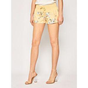 Roxy Plážové šortky Catch A Wave ERJBS03154 Žltá Regular Fit vyobraziť