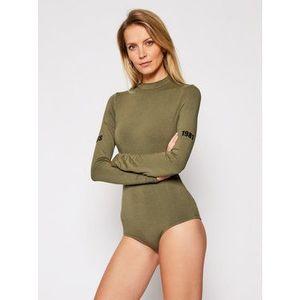 Guess Body Eva W1RP36 K68D2 Zelená Slim Fit vyobraziť