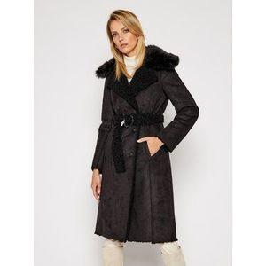 Patrizia Pepe Zimný kabát 2L0896/A7T6 Čierna Regular Fit vyobraziť