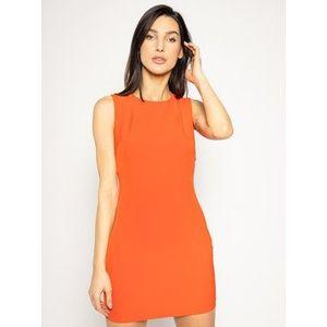 Guess Koktejlové šaty Ofelia W0GK0F WB4H0 Červená Slim Fit vyobraziť