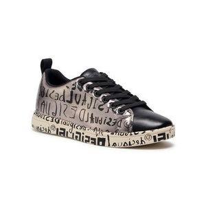 Desigual Sneakersy Cosmic 20WSKP18 Strieborná vyobraziť